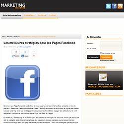 Les meilleures stratégies pour les Pages Facebook