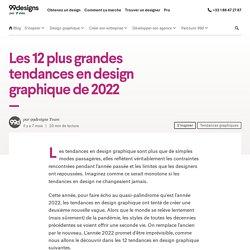 10 tendances en design graphique à suivre en 2020