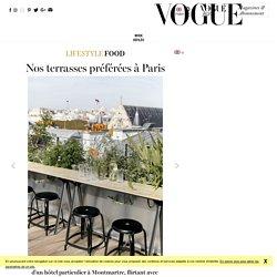 Les meilleures terrasses et rooftop a Paris pour l'été