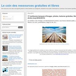 17 meilleures banques d'images, photos, textures gratuites, libres de droits (maj 03/06/2014)