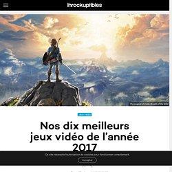 Nos dix meilleurs jeux vidéo de l'année 2017 - Les Inrocks : magazine et actualité culturelle en continu