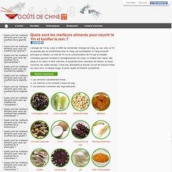 Quels sont les meilleurs aliments pour nourrir le Yin et tonifier le rein ? - Gouts de Chine