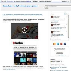 Les 4 meilleurs moteurs de recherche vidéos alternatifs