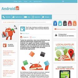 Top 5 des meilleurs antivirus gratuits pour protéger votre terminal AndroidAndroid MT