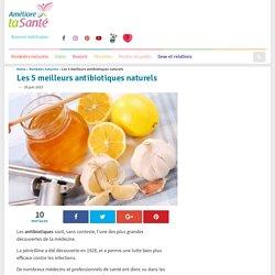 Les 5 meilleurs antibiotiques naturels