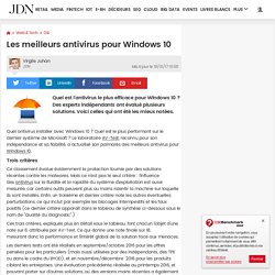 "Jiri Sejtko (Avast) :""Les antivirus trouvent leur place sur Windows 10"""