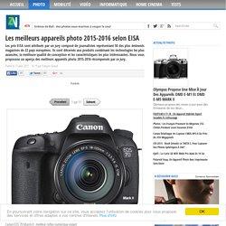 Les meilleurs appareils photo 2015-2016 selon EISA
