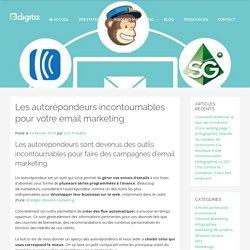 Les meilleurs autorépondeurs pour votre email marketing
