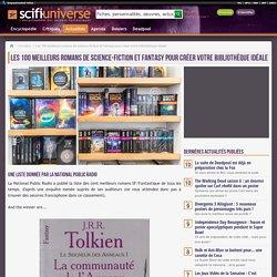 Les 100 meilleurs romans de science-fiction et fantasy pour créer votre bibliothèque idéale - Actualité
