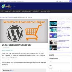 Les 10 meilleurs plugin boutique en ligne pour Wordpress