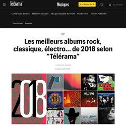 """Les meilleurs albums rock, classique, électro... de 2018 selon """"Télérama"""" - Musiques"""