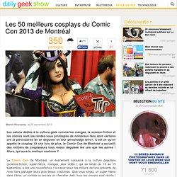 les 50 meilleurs cosplay Montréal