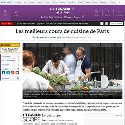 Les meilleurs coursdecuisine de Paris