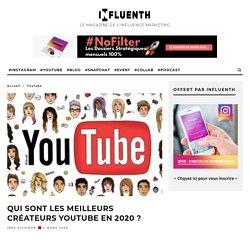 Qui sont les meilleurs créateurs YouTube en 2020 ?