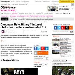 """Gangnam Style, JO, Clinton : les meilleurs """"mèmes"""" de l'année"""