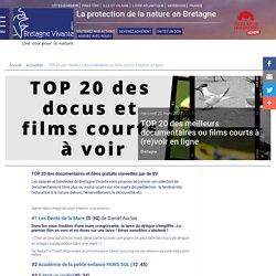 TOP 20 des meilleurs documentaires ou films courts à (re)voir en ligne - Bretagne Vivante