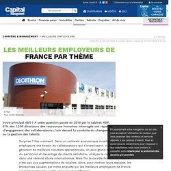 Les meilleurs employeurs de France par thème