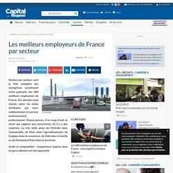 Les meilleurs employeurs de France par secteur