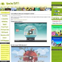 Les meilleurs sites pour enseigner le climat