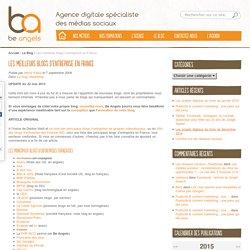 Les meilleurs blogs d'entreprise en France