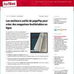 Les meilleurs outils de pageflip pour créer des magazines feuilletables en ligneBlog RefBox