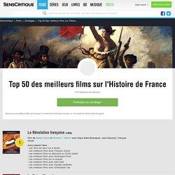 Top 50 des meilleurs films sur l'Histoire de France