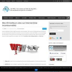 Mes 69 meilleurs sites sur Internet (liste incontournable)
