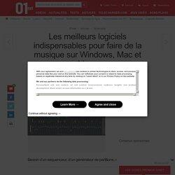 Les meilleurs logiciels indispensables pour faire de la musique sur Windows, Mac et Linux