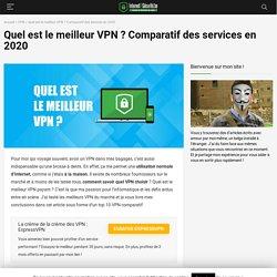 Top 10 VPN : les meilleurs services de 2020