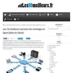 Les 10 meilleurs services de stockage en ligne (dans le cloud) - Les10meilleurs.fr
