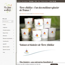 Terre Adélice : l'un des meilleurs glacier de France ! - Livraison produits locaux Lyon