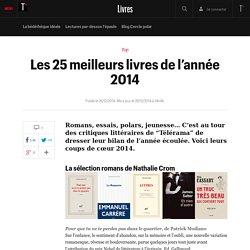 Les 25 meilleurs livres de l'année 2014