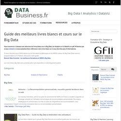 Les meilleurs livres blancs et cours sur le Big Data l Data-Business.fr