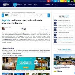 Top 30+ meilleurs sites de location de vacances en France ou l'étranger 2020