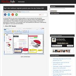 Top 5 des meilleurs logiciels gratuits pour lire des fichiers PDF