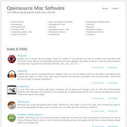 Les meilleurs logiciels Mac gratuits – OpensourceMacSoftware