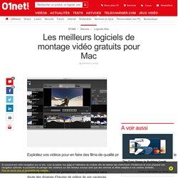 Les meilleurs logiciels de montage vidéo gratuits pour Mac