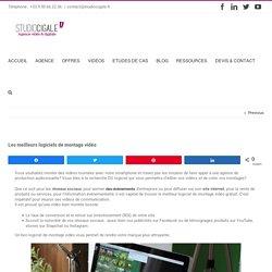 Les meilleurs logiciels de montage vidéo – Studio Cigale