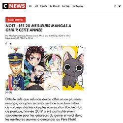 Noël : Les 20 meilleurs mangas à offrir cette année