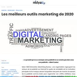 Les meilleurs outils marketing de 2020 - nidyanet
