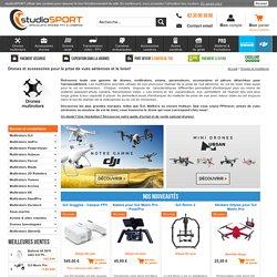 Les meilleurs marques de drones: DJI, 3DR, Hubsan