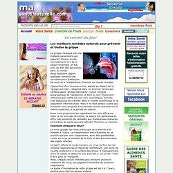 Les meilleurs remèdes naturels pour prévenir et traiter la grippe