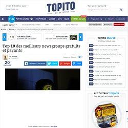 Top 10 meilleurs newsgroups français gratuits et payants et usenet