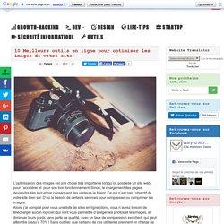 10 Meilleurs outils en ligne pour optimiser les images de votre site