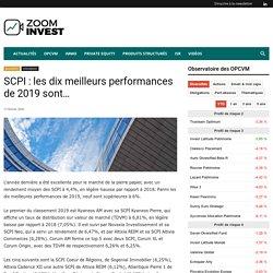 SCPI : les dix meilleurs performances de 2019 sont… - Zoom Invest