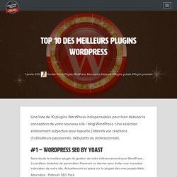 Top 10 des meilleurs plugins WordPress
