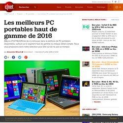 Les meilleurs PC portables haut de gamme de 2016