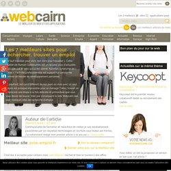 7 meilleurs sites pour rechercher, trouver un emploi