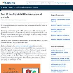 Les 10 meilleurs outils pour ressources humaines open source et gratuits