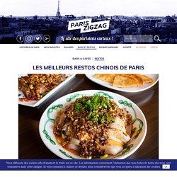Les meilleurs restos chinois de Paris
